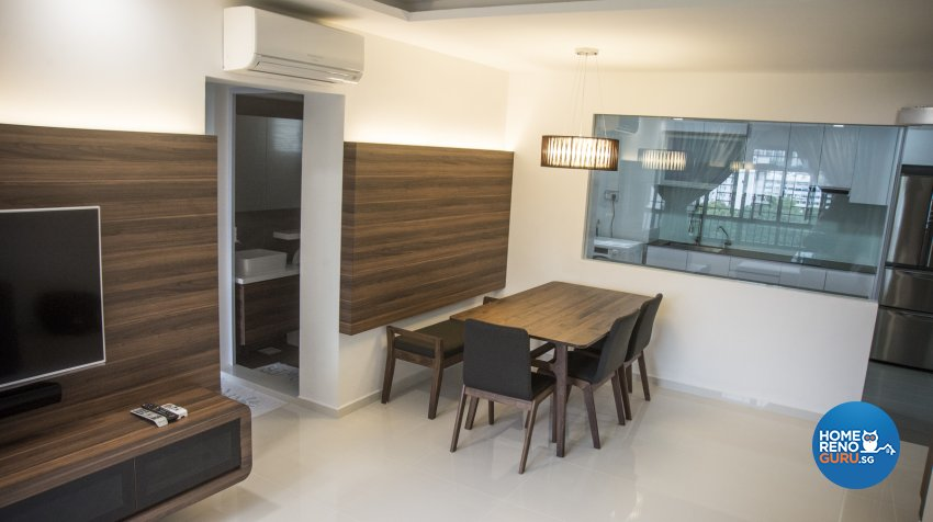 Classical, Modern, Resort Design - Dining Room - HDB 3 Room - Design by WHST Design