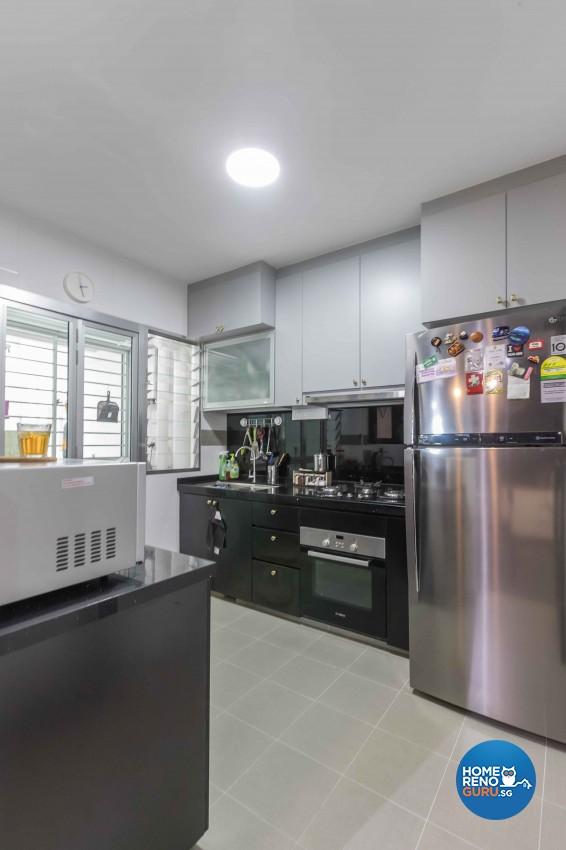 Modern, Scandinavian Design - Kitchen - HDB 4 Room - Design by WHST Design