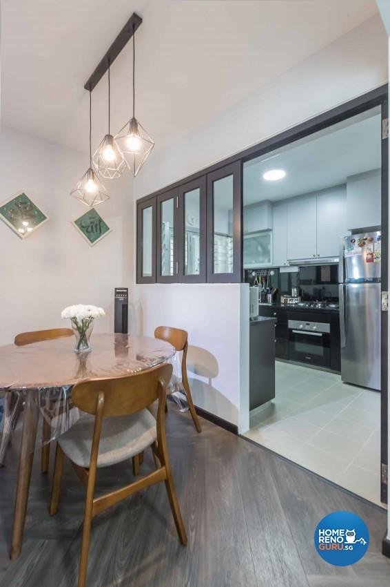 Modern, Scandinavian Design - Dining Room - HDB 4 Room - Design by WHST Design