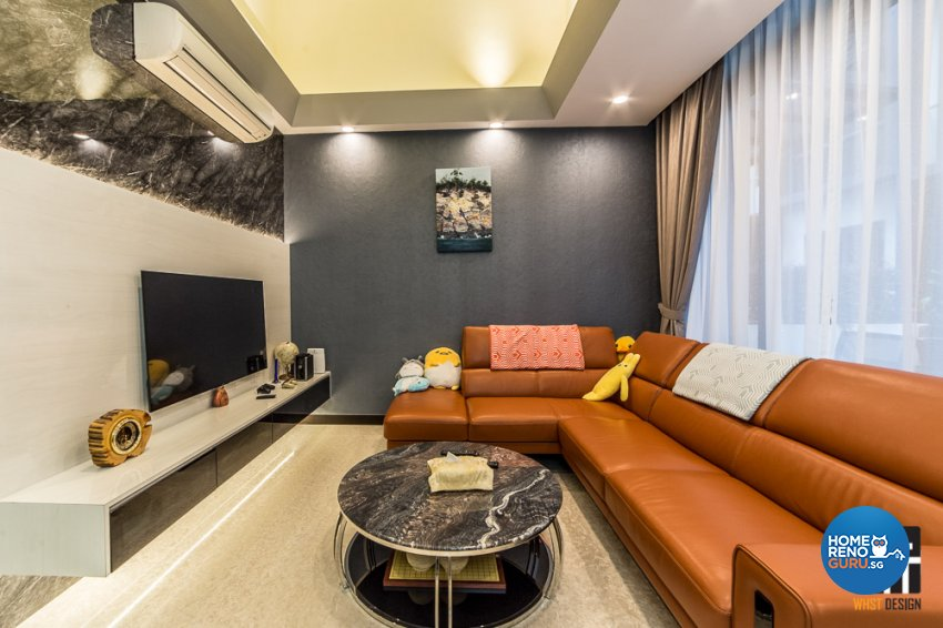 Classical, Contemporary, Modern Design - Living Room - Landed House - Design by WHST Design