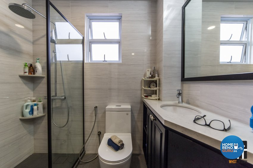 Classical, Modern, Victorian Design - Bathroom - Landed House - Design by WHST Design