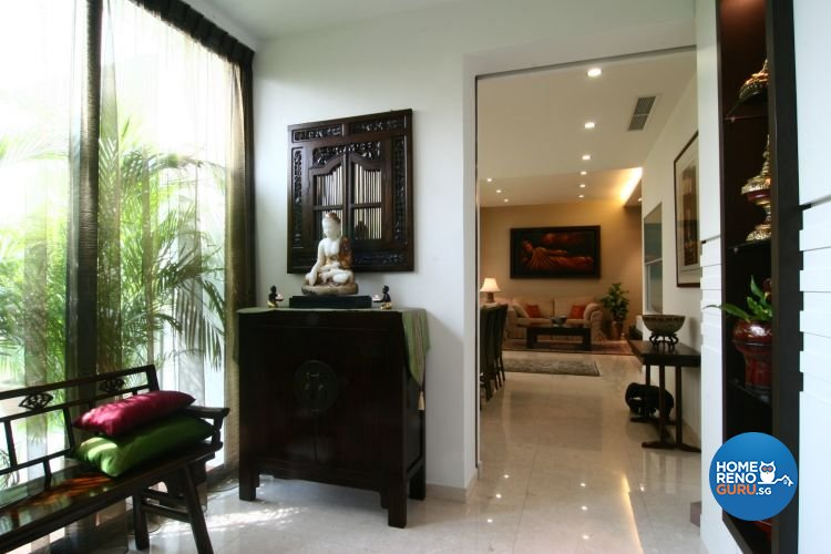 Classical, Modern, Tropical Design - Living Room - Condominium - Design by Wideangle Pte Ltd