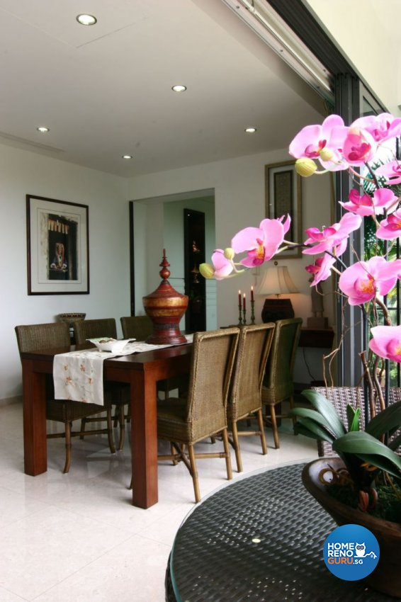 Classical, Modern, Tropical Design - Dining Room - Condominium - Design by Wideangle Pte Ltd