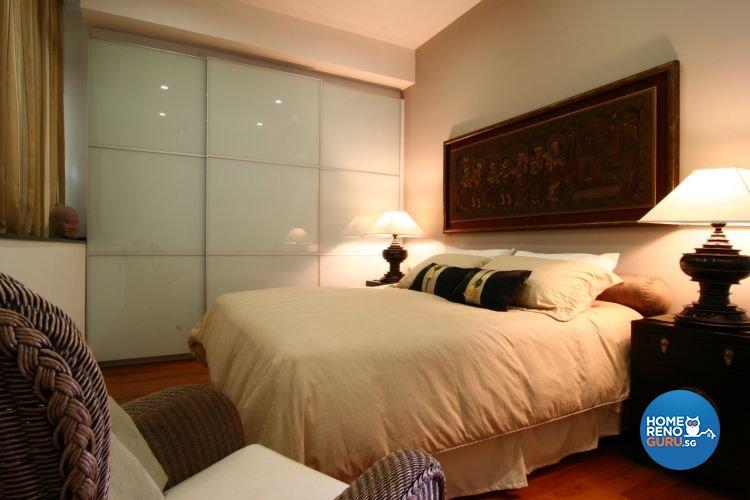 Classical, Modern, Tropical Design - Bedroom - Condominium - Design by Wideangle Pte Ltd