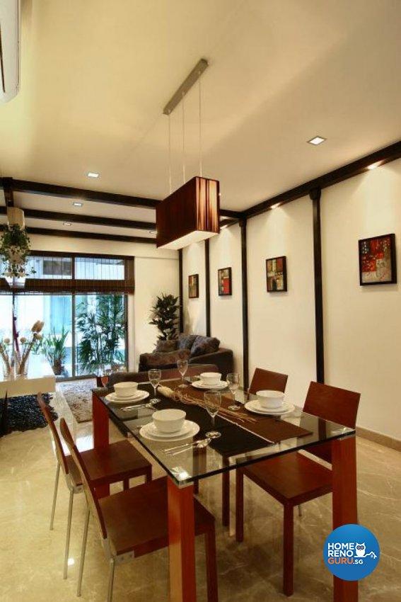 Classical, Tropical Design - Dining Room - Condominium - Design by Wideangle Pte Ltd