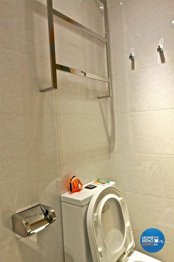 Contemporary, Minimalist Design - Bathroom - Condominium - Design by Wideangle Pte Ltd