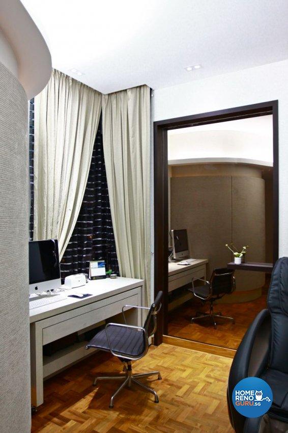 Contemporary, Minimalist Design - Study Room - Condominium - Design by Wideangle Pte Ltd