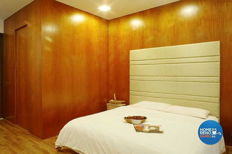 Minimalist, Tropical Design - Bedroom - Landed House - Design by Wideangle Pte Ltd