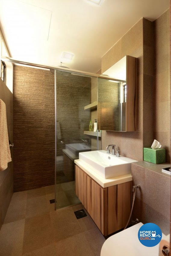 Contemporary, Tropical Design - Bathroom - Condominium - Design by Y-Axis ID