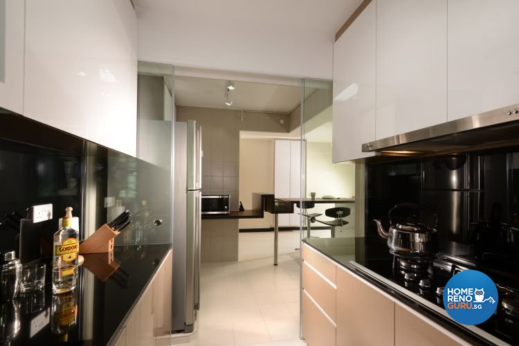 Contemporary, Minimalist Design - Kitchen - HDB 5 Room - Design by Y-Axis ID