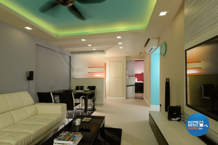 Contemporary, Modern Design - Dining Room - HDB 4 Room - Design by Y-Axis ID