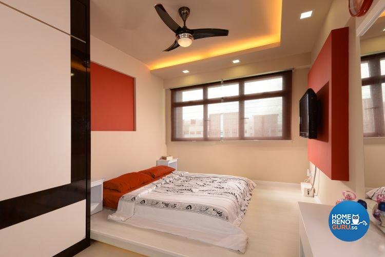 Contemporary, Modern Design - Bedroom - HDB 4 Room - Design by Y-Axis ID