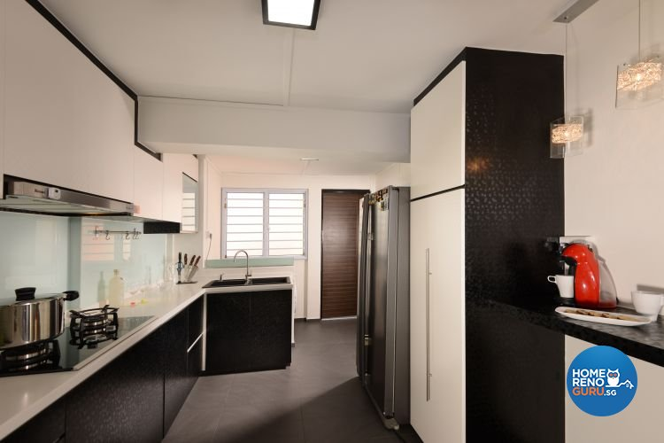 Minimalist, Modern Design - Kitchen - HDB 3 Room - Design by Y-Axis ID