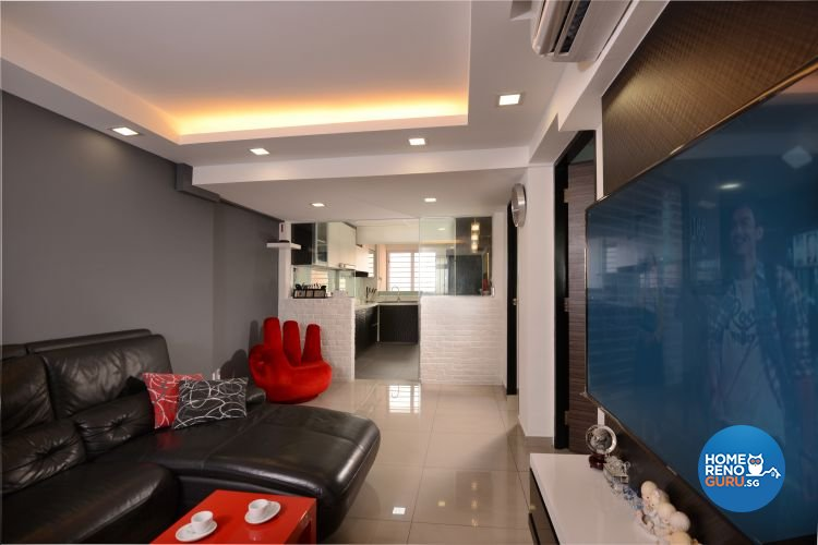 Minimalist, Modern Design - Dining Room - HDB 3 Room - Design by Y-Axis ID