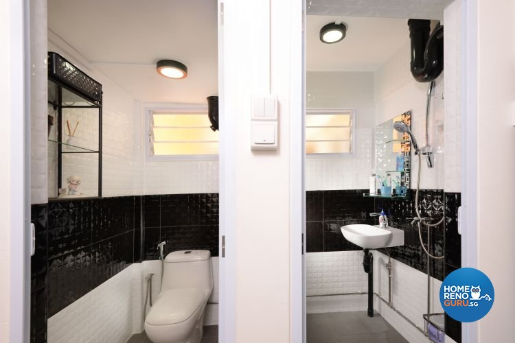 Minimalist, Modern Design - Bathroom - HDB 3 Room - Design by Y-Axis ID