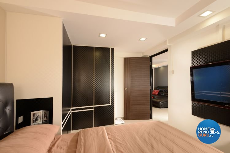 Minimalist, Modern Design - Bedroom - HDB 3 Room - Design by Y-Axis ID
