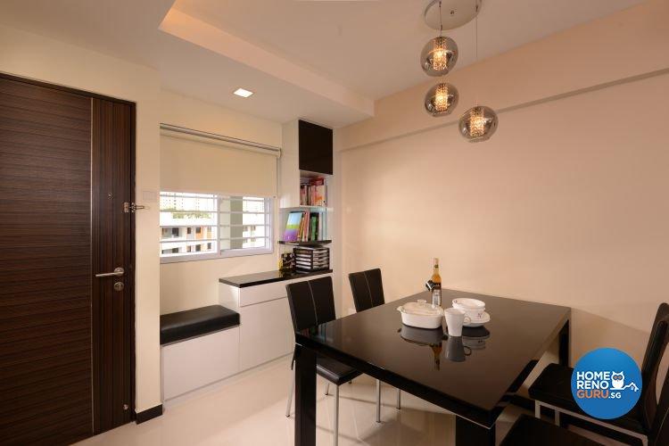 Minimalist, Modern Design - Dining Room - HDB 3 Room - Design by Y-Axis ID