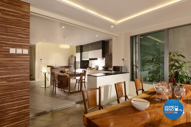 Classical, Contemporary, Modern Design - Dining Room - Landed House - Design by Y-Axis ID