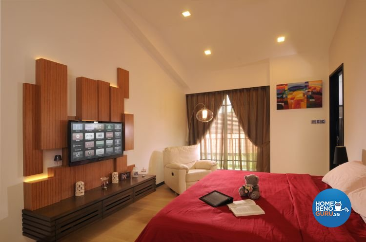 Contemporary, Minimalist, Tropical Design - Bedroom - Landed House - Design by Y-Axis ID