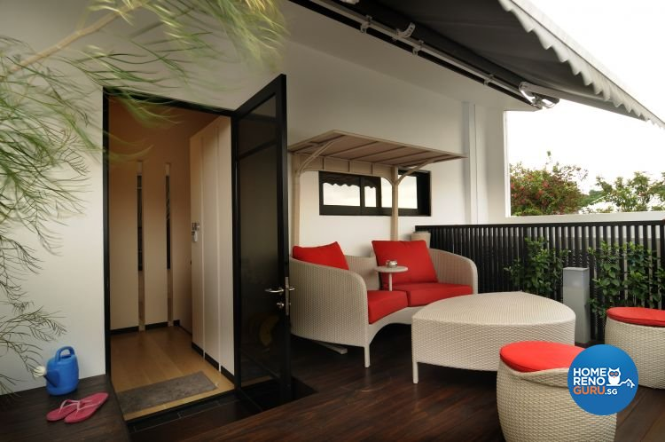 Contemporary, Minimalist, Tropical Design - Dining Room - Landed House - Design by Y-Axis ID