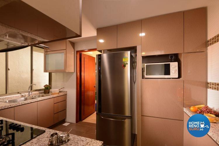 Contemporary, Minimalist Design - Kitchen - Condominium - Design by Y-Axis ID