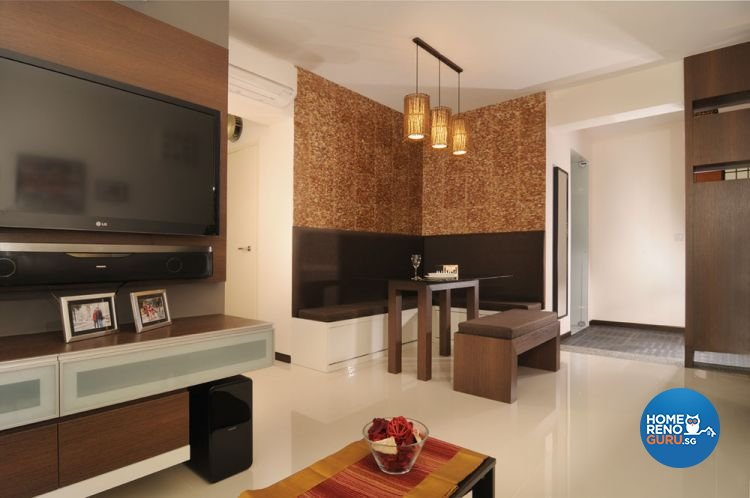 Contemporary, Minimalist, Modern Design - Living Room - HDB 5 Room - Design by Y-Axis ID