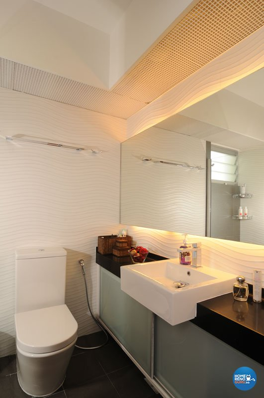 Contemporary, Minimalist, Modern Design - Bathroom - HDB 5 Room - Design by Y-Axis ID