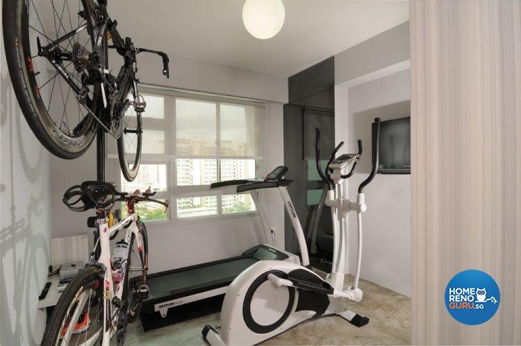 Contemporary, Minimalist, Modern Design - Entertainment Room - HDB 5 Room - Design by Y-Axis ID