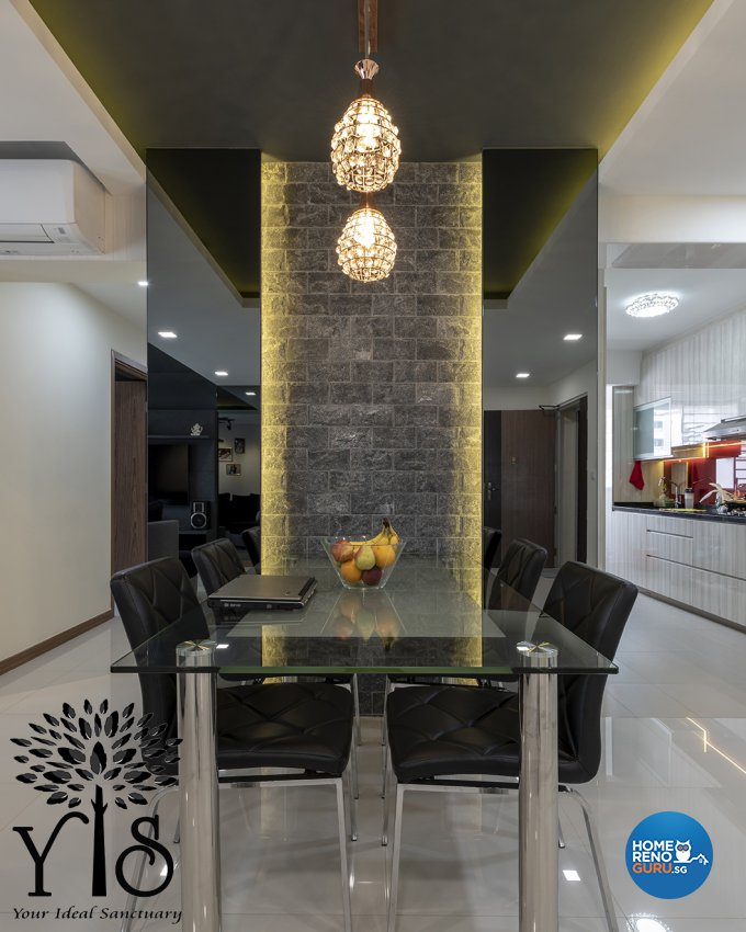 Contemporary, Minimalist, Modern Design - Dining Room - HDB 5 Room - Design by YIS Living Pte Ltd