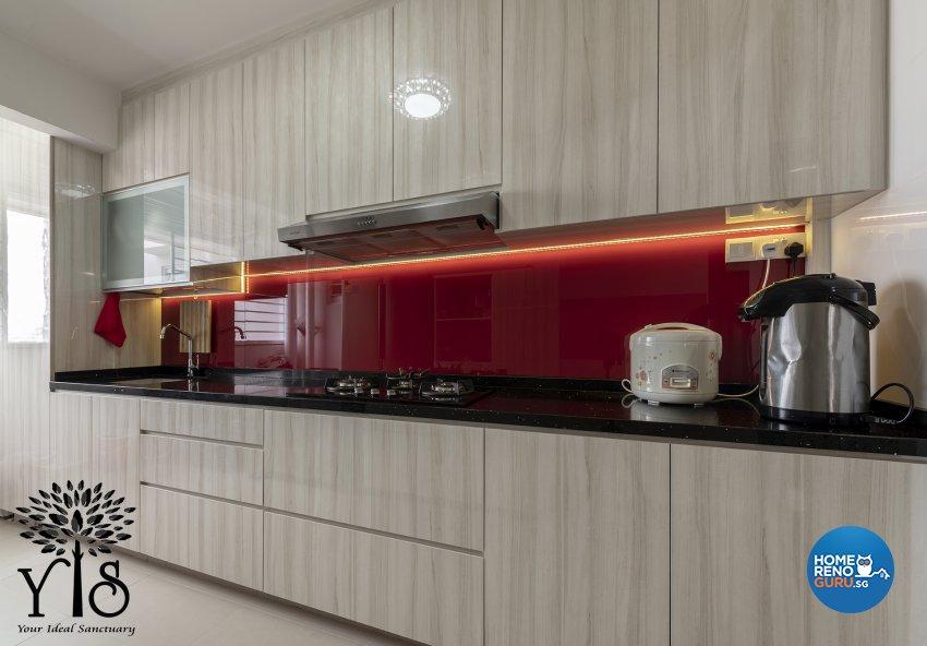 Contemporary, Minimalist, Modern Design - Kitchen - HDB 5 Room - Design by YIS Living Pte Ltd