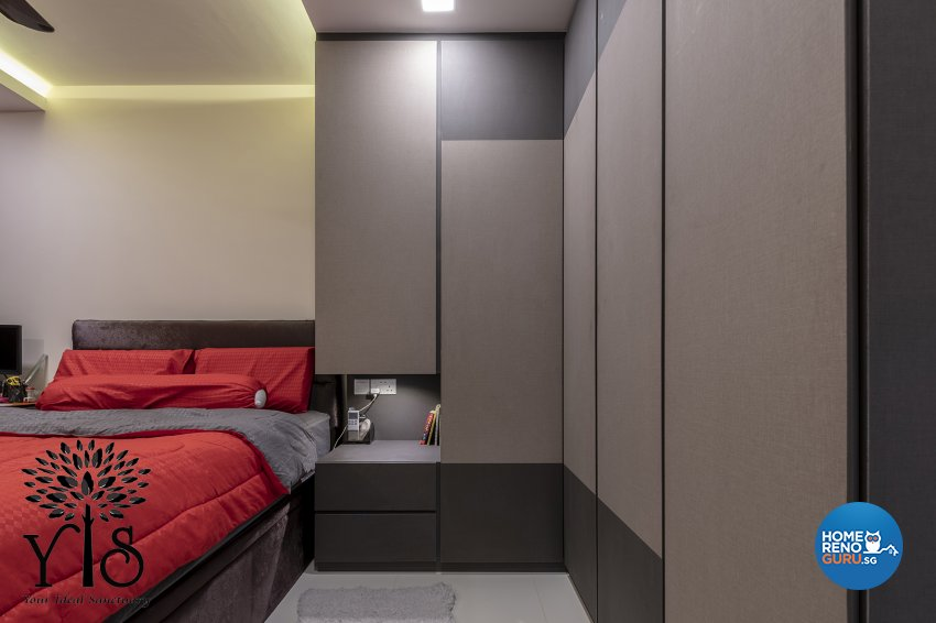 Contemporary, Minimalist, Modern Design - Bedroom - HDB 5 Room - Design by YIS Living Pte Ltd