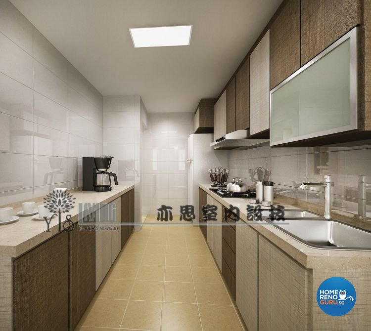 Classical, Modern Design - Kitchen - HDB 4 Room - Design by YIS Living Pte Ltd