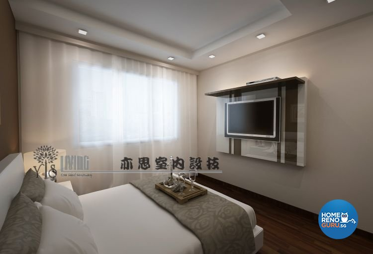 Classical, Modern Design - Bedroom - HDB 4 Room - Design by YIS Living Pte Ltd