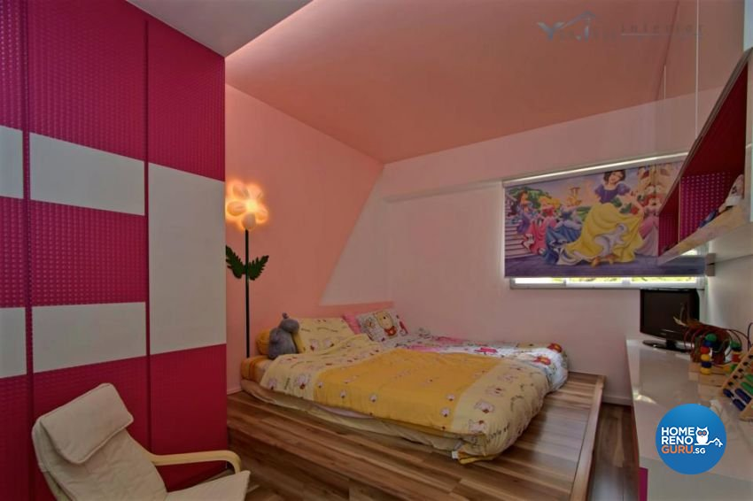 Contemporary Design - Bedroom - Condominium - Design by Yujia Interior Design Pte Ltd