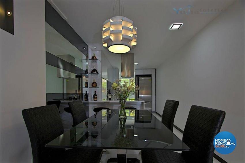 Contemporary Design - Dining Room - Condominium - Design by Yujia Interior Design Pte Ltd