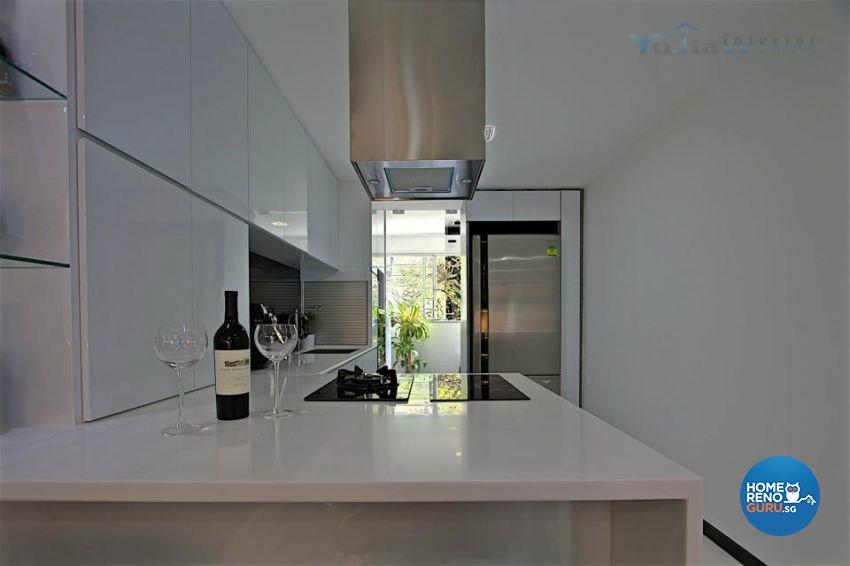 Contemporary Design - Kitchen - Condominium - Design by Yujia Interior Design Pte Ltd
