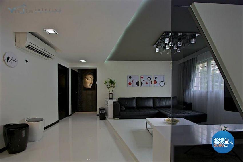 Contemporary Design - Living Room - Condominium - Design by Yujia Interior Design Pte Ltd