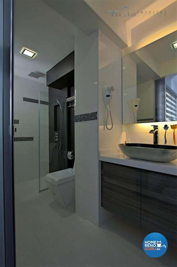 Contemporary Design - Bathroom - Condominium - Design by Yujia Interior Design Pte Ltd