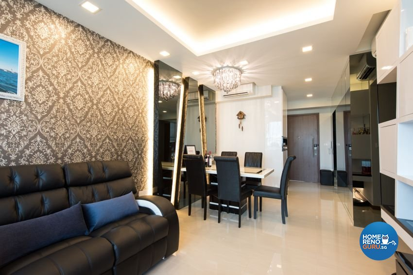 Classical Design - Dining Room - Condominium - Design by Yujia Interior Design Pte Ltd