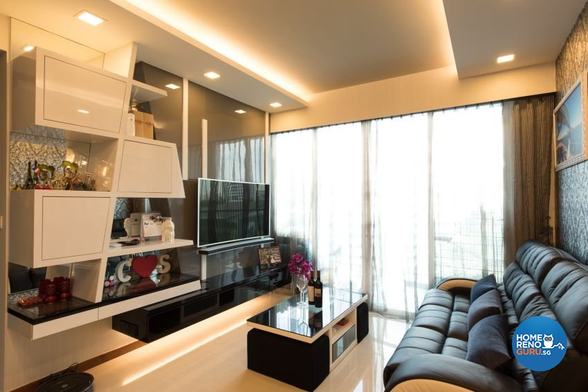 Classical Design - Living Room - Condominium - Design by Yujia Interior Design Pte Ltd