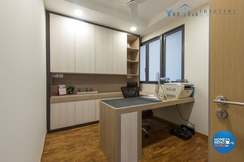 Contemporary Design - Study Room - Condominium - Design by Yujia Interior Design Pte Ltd