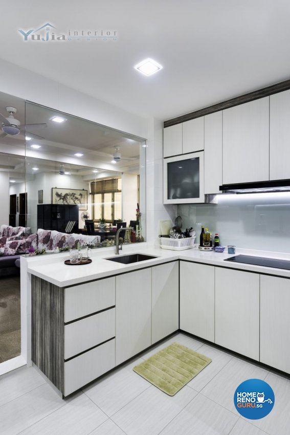 Contemporary Design - Kitchen - Condominium - Design by Yujia Interior Design Pte Ltd