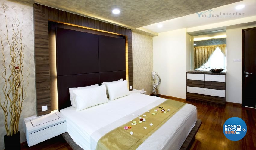 Contemporary Design - Bedroom - Landed House - Design by Yujia Interior Design Pte Ltd