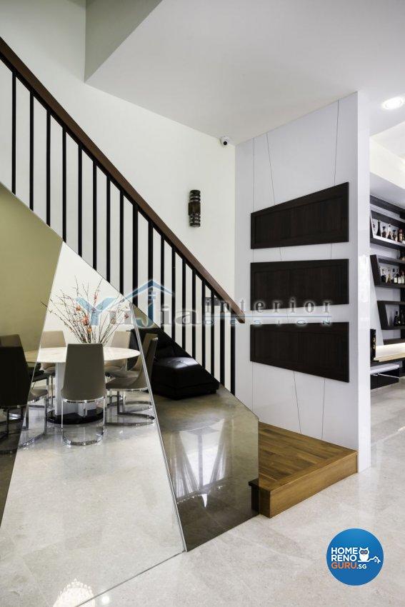 Contemporary Design - Living Room - Landed House - Design by Yujia Interior Design Pte Ltd