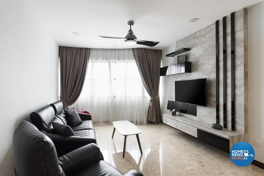 Contemporary Design - Living Room - Condominium - Design by Yujia Interior Design Pte Ltd