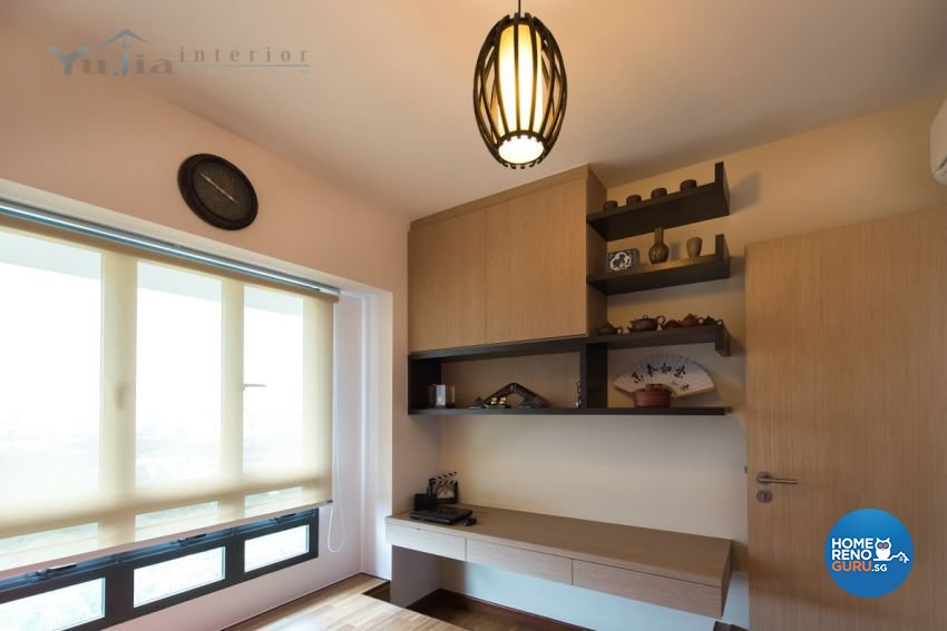Contemporary Design - Bedroom - HDB 4 Room - Design by Yujia Interior Design Pte Ltd