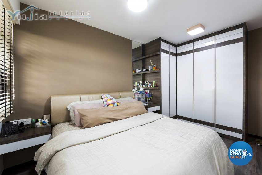 Industrial Design - Bedroom - HDB 4 Room - Design by Yujia Interior Design Pte Ltd