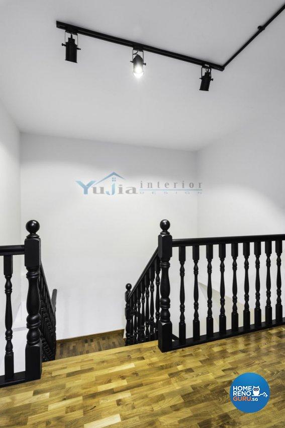 Contemporary Design - Balcony - HDB Executive Apartment - Design by Yujia Interior Design Pte Ltd