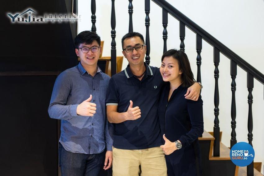 Contemporary Design - Commercial - HDB Executive Apartment - Design by Yujia Interior Design Pte Ltd