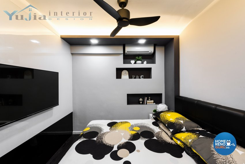 Contemporary Design - Bedroom - HDB 5 Room - Design by Yujia Interior Design Pte Ltd